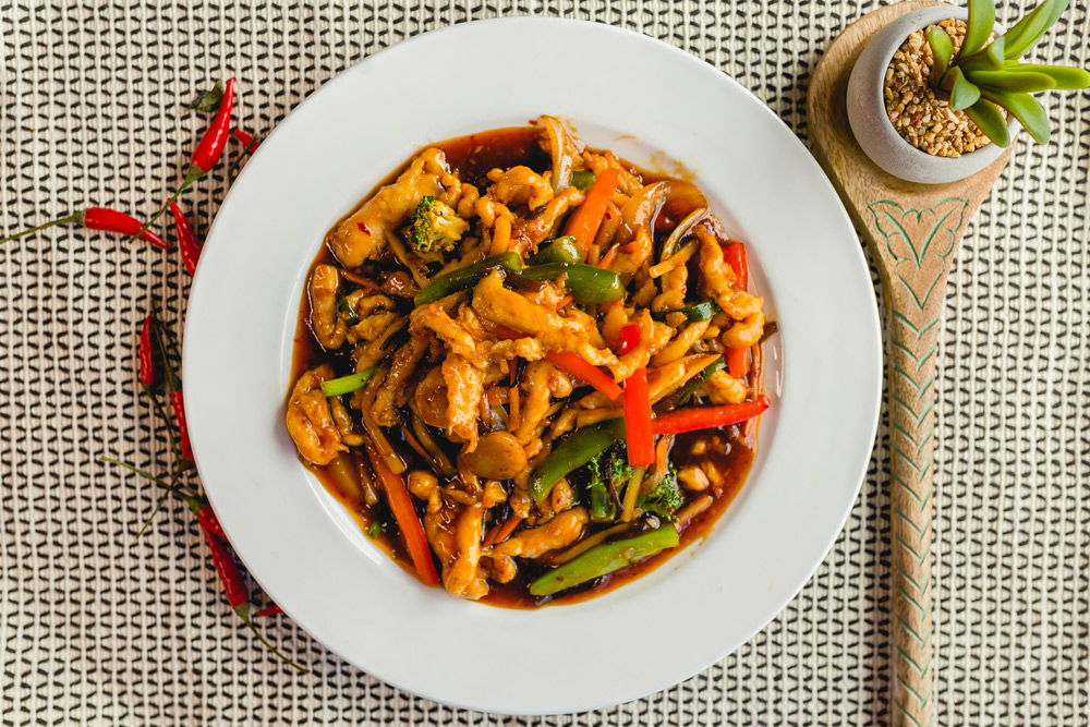 Spicy Chicken with Bamboo Shoots 5
