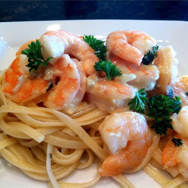 Baked Shrimp in Clear Noodles Recipe