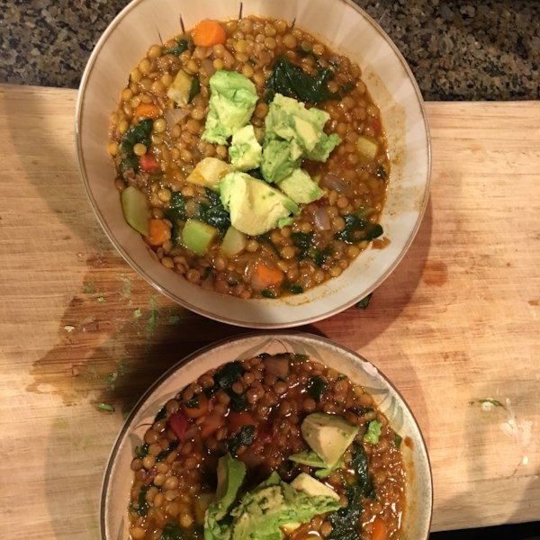 Vegetarian Moroccan Lentils Recipe