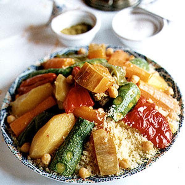 Moroccan Couscous with Seven Vegetables