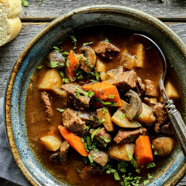 Moroccan beef curry in the slow cooker