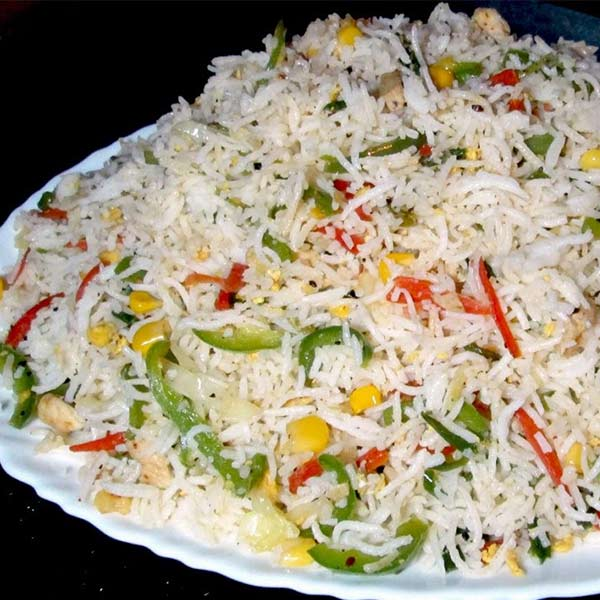 Paneer Fried Rice, Chinese Style Fried Rice