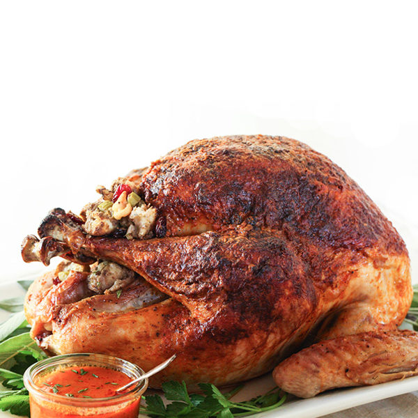 Greek Traditional Turkey with Chestnut and Pine Nut Stuffing