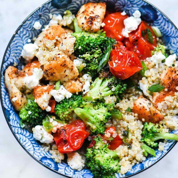 Mediterranean Veggies and Rice