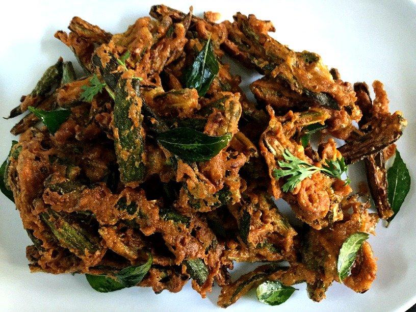 Crispy Fried Okra Recipe