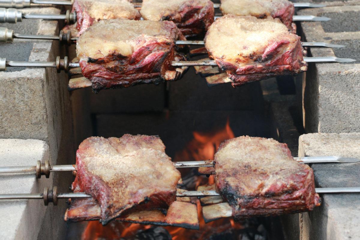 Beef ribs in brazilian style