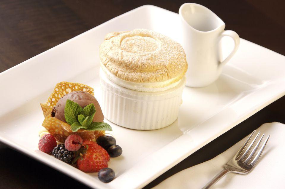 French White Chocolate Soufflé Recipe