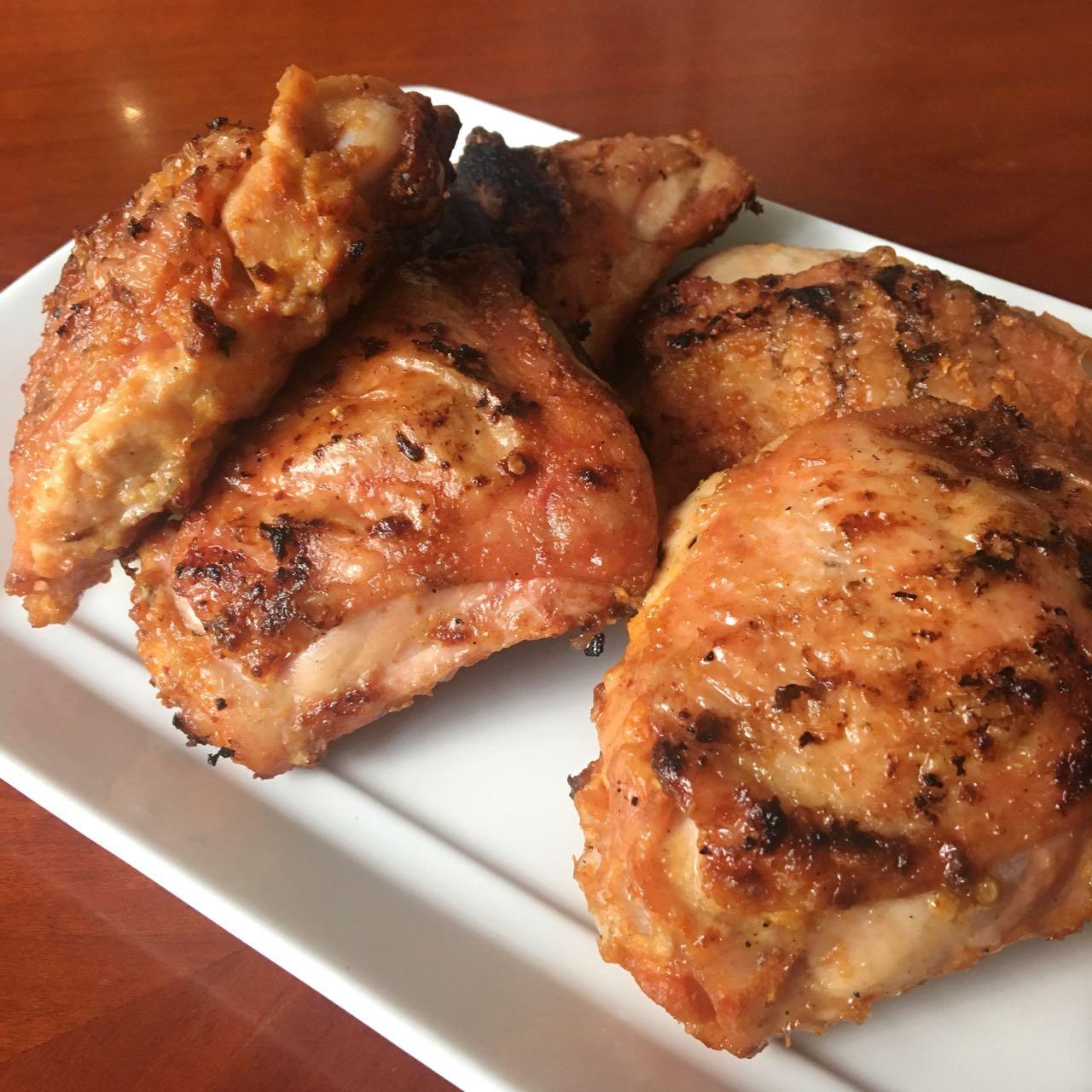 West African grilled chicken salad