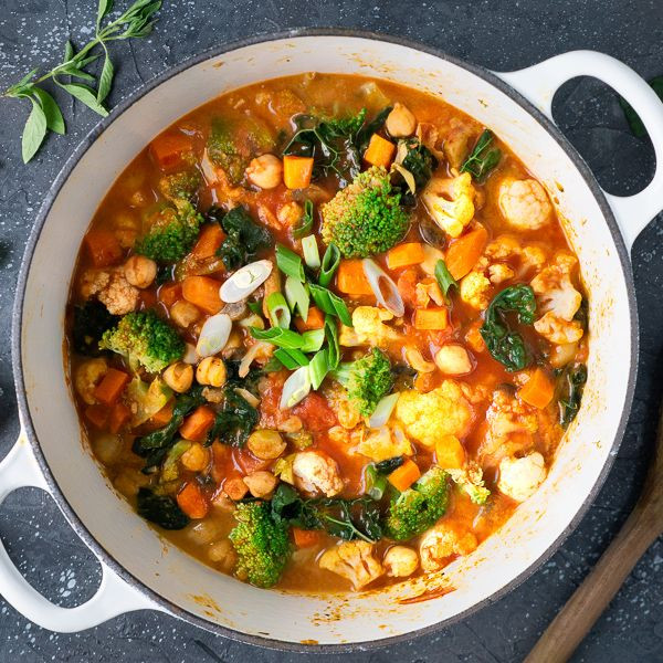 Vegan Red Coconut Curry