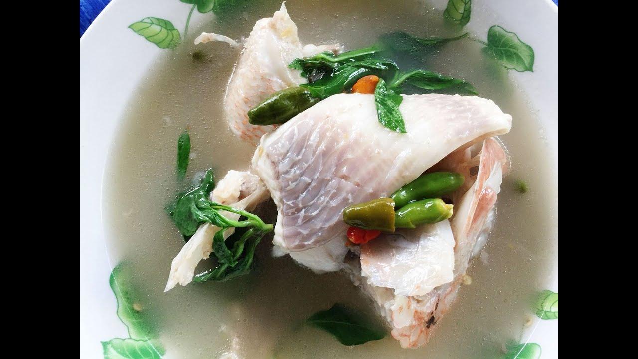 Fast Malaysian Style Fish Soup