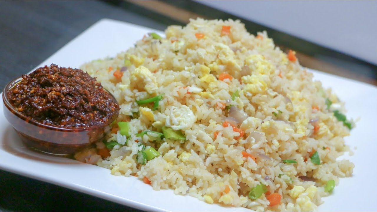 Fried Rice with Garlic and Egg Recipe