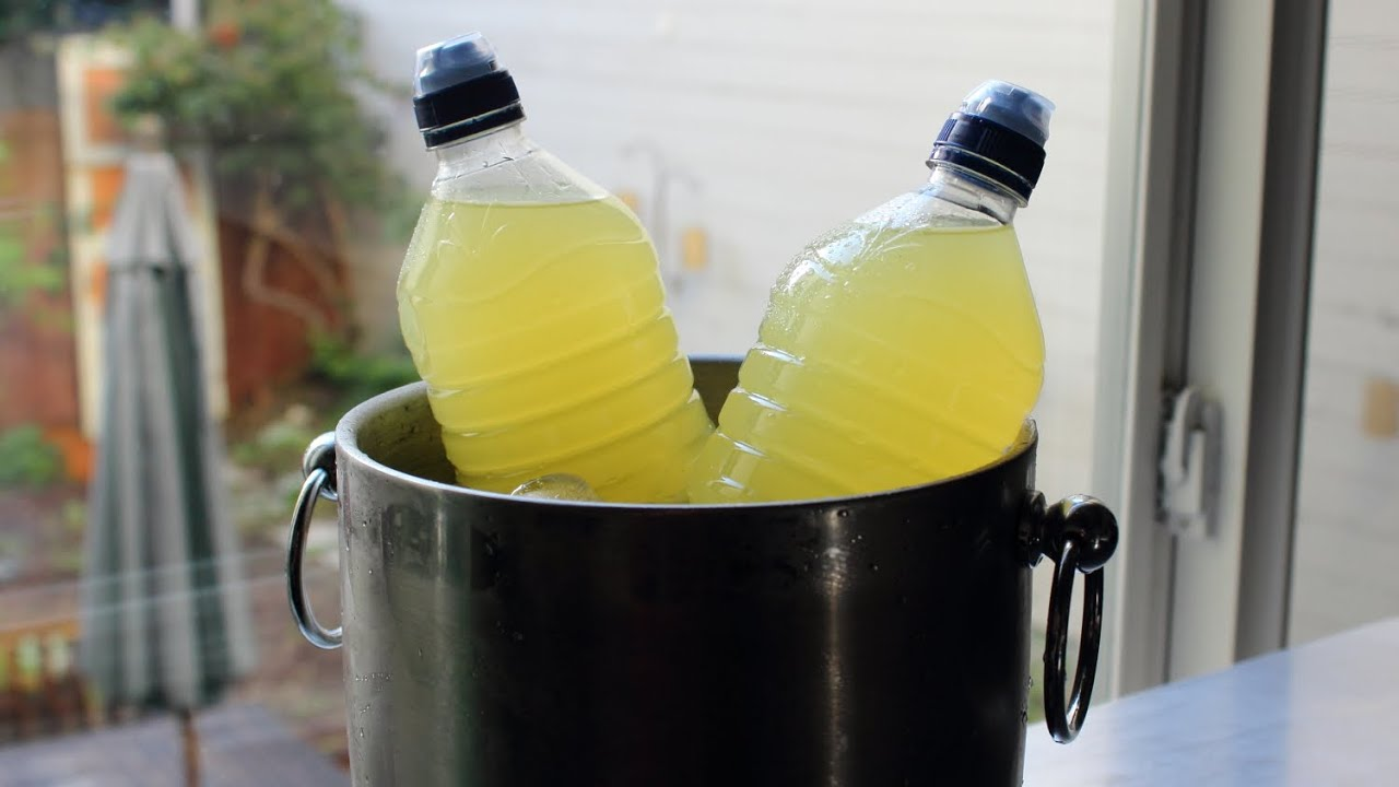Homemade Sports Drink (aka Greaterade)