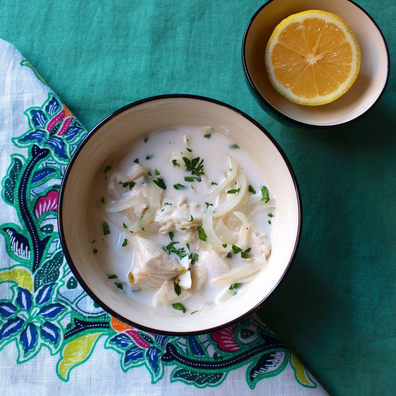 Fijian fish soup