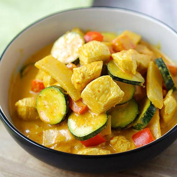 Filipino Vegetable Stew over Jasmine Rice with Crispy Okra