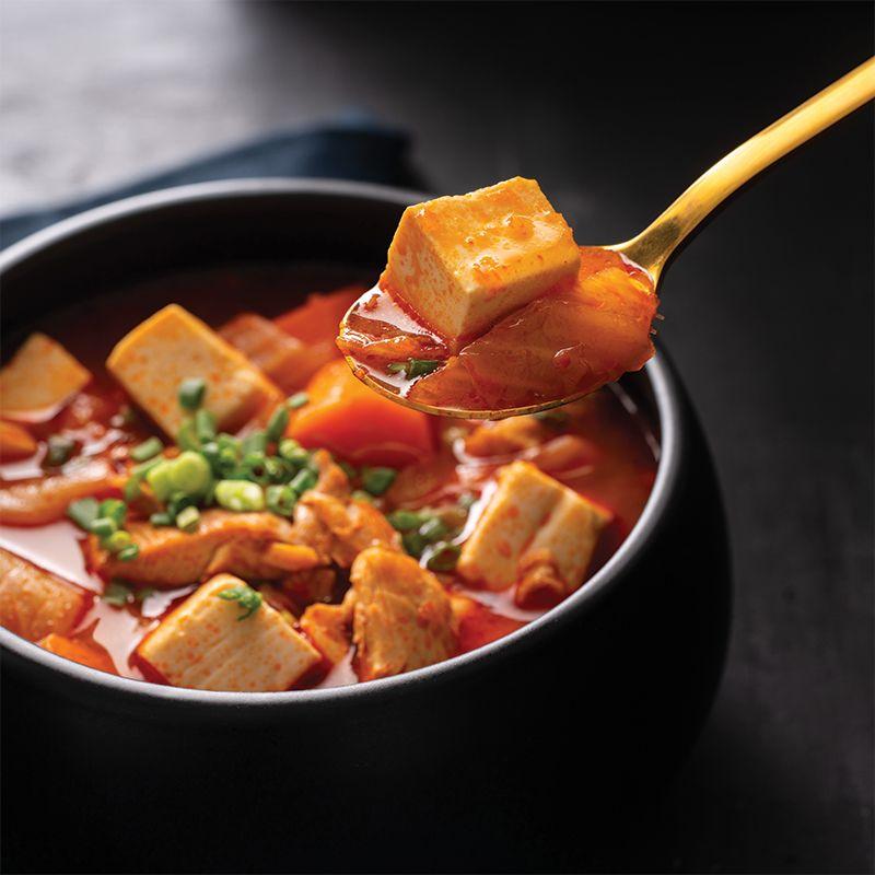 Korean Tofu & Veggie Curry