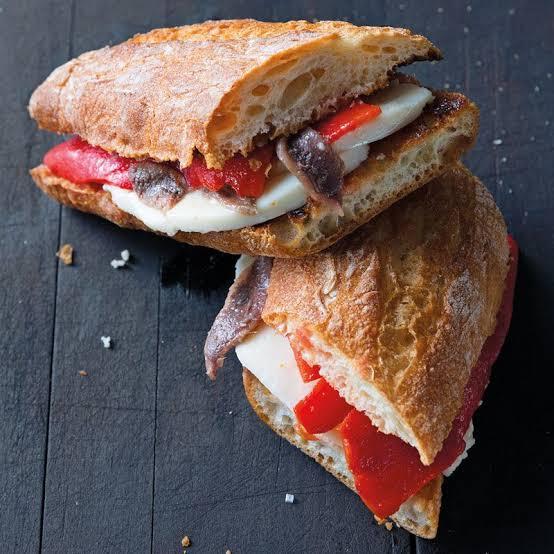 Chef Chuck's Mediterranean Stuffed Bread